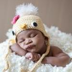 Baby Chick Hat - Newborn P..