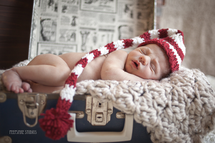 Elf Hat - Newborn Photo Prop