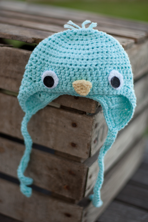 Baby Bird Hat - Newborn Photo Prop